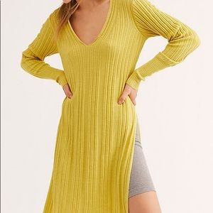 NWT Free People ribbed tunic